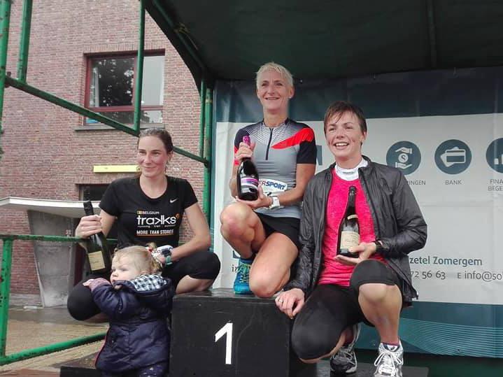 Podiumplaats voor Gent Running Team