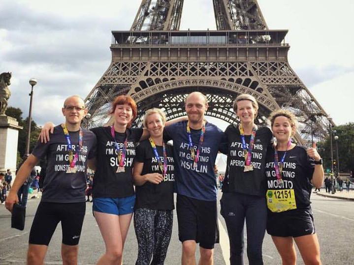 Halve marathon van Parijs